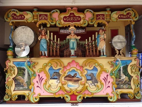 61 Key Fairground Organ For Hire Or To Attend Your Event
