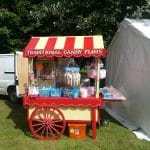 Candy Floss and Popcorn Traditional Barrow For Hire or To Attend Your Event
