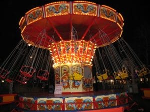 Chair-O-Plane Fairground Ride For Hire Or To Attend Your Event
