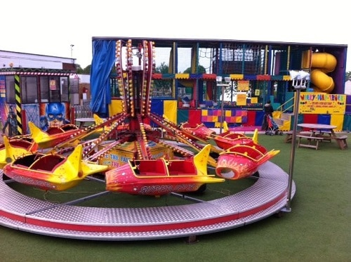 Super Jet Fairground Ride For Hire Or To Attend Your Event