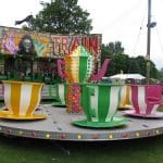 Teacup and Saucer Fairground Ride For Hire Or To Attend Your Event