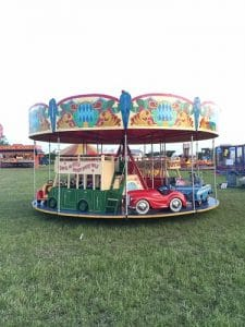 Merry Go Round Fairground Ride For Hire Or To Attend Your Event